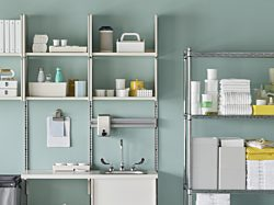 Healthcare cleaning storage