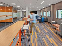 Classroom, Lounge Furniture, Stool, Lobby, Education