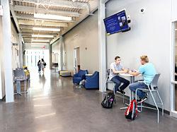 Drake University, Des Moines Iowa, Pigott, Campus Furniture, Herman Miller, Plex