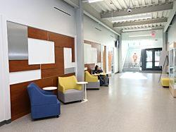 Drake University, Herman Miller, Pigott, Des Moines Iowa, Plex Seating, College Campus