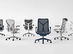 Herman Miller's lineup of high-performing, modern office chairs.